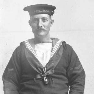 Sailor, probably 63rd (Royal Naval) Division