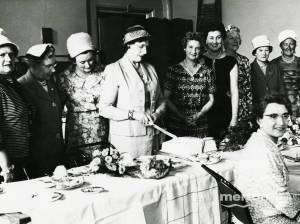 Mrs E G Baker, The Mayor of Mitcham