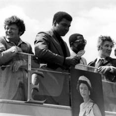 Muhammad  Ali's visit to South Shields