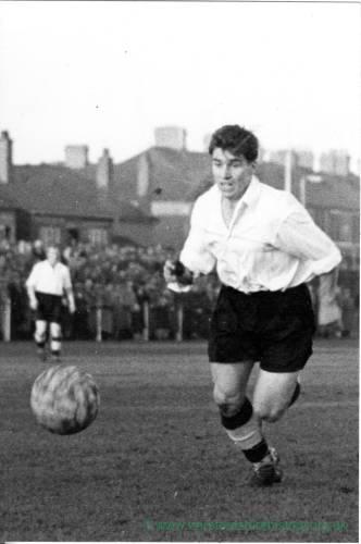 Football at Edgar Street, 1950s.