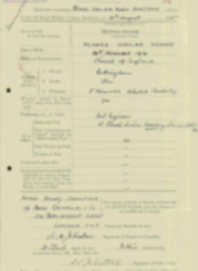 RMC Form 18A Personal Detail Sheets Aug 1935 Intake - page 117
