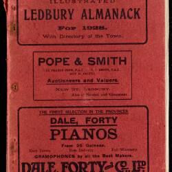 Tilley's Ledbury Almanack 1928