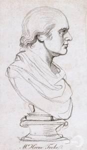 Bust of John Horne Tooke