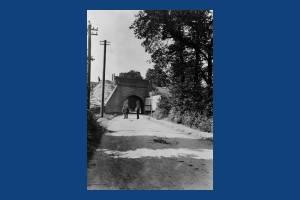 L. &. S. W. R Railway Bridge, West Barnes Lane