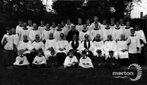Choir of St. Mary's Church, Merton Park