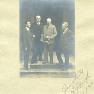 Sir Edward Elgar & Three Others 1930