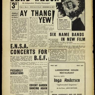 Vol.1 No.11 23 December 1939
