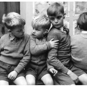 Children at Wessington Court, specialist school for the deaf