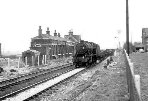 Lymm Railway Station
