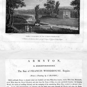 Armston House, Kings Caple, Herefordshire, picture and article 1788