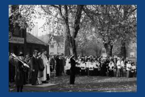 Remembrance Day Service, Mitcham