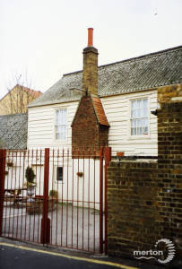 Rear view of The  Bull, Church Place, Mitcham