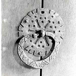 Closing Ring, Woolhope Church, Herefordshire, 1928