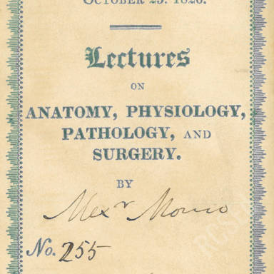 Anatomy, Physiology, Pathology & Surgery