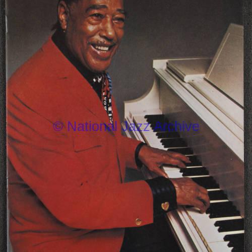 Duke Ellington Orchestra British Tour – November 1973 001
