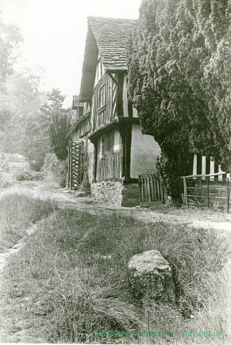 Timber framed house, Mansel Lacy, Herefordshire