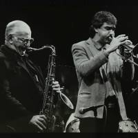 Ronnie Scott and Dick Pearce (left to right)