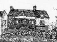 Old House, Mitcham:    Possible residence of Sir Julius Caesar, Demolished 1853