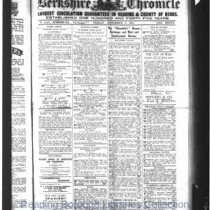 Berkshire Chronicle Reading 12-1915