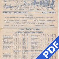 19481126 Official Programme Aldershot Home FC