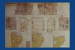 Dorset Road, Merton Park: Kingston Road corner house Plans