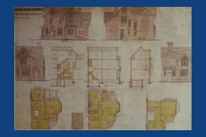 Dorset Road, Merton Park: Kingston Road corner house Plans