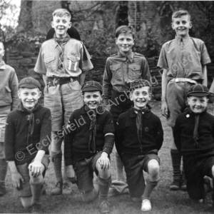 Chapeltown Scout Group c1950.