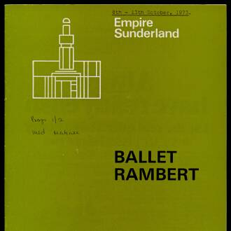 Empire Theatre, Sunderland, October 1973