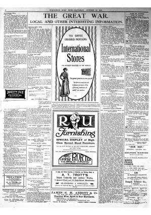 12 OCTOBER 1918