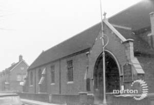 All Saints' Church, Wimbledon: north elevation