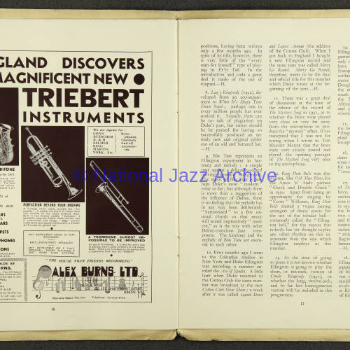 Duke Ellington Orchestra British Tour – July 1933 009