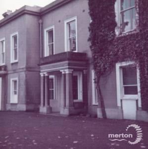 North entrance, Morden Hall, Morden