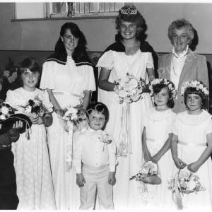 Burncross Methodist Church Harvest Queen 1986