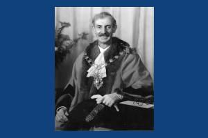 Alderman A H Bailey, Mayor 1944-45