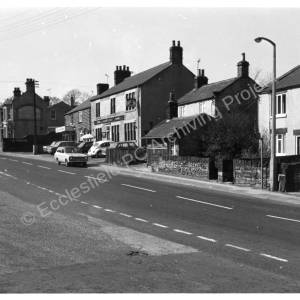 Wortley Road, High Green from Mortomley Hill 1977.