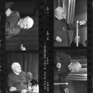 Contact sheet of an unknown Archbishop.
