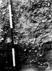 Excavation at Caesar's Camp, Wimbledon Common