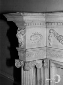 Cannizaro House, Wimbledon: Fireplace detail
