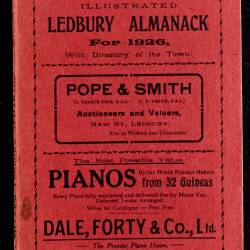 Tilley's Ledbury Almanack 1926
