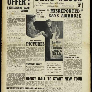 Vol.1 No.17 03 February 1940