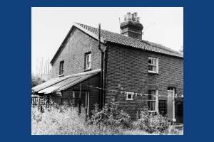 Blue House Cottages, West Barnes Lane: No. 1
