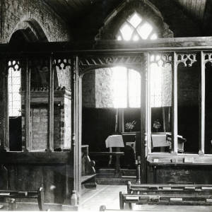 Stretford Church, Herefordshire, screen