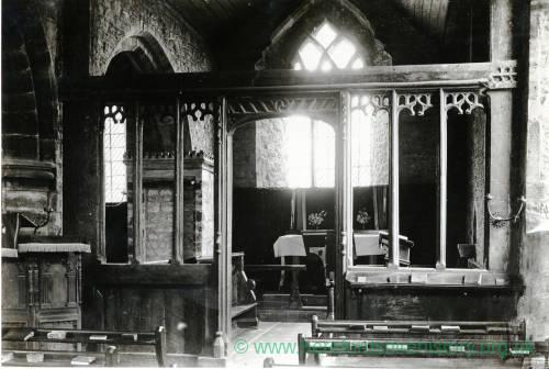 Stretford Church, Herefordshire, screen