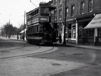 Tram at Broadway Corner, Wimbledon