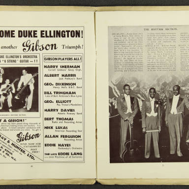 Duke Ellington Orchestra British Tour – July 1933 006