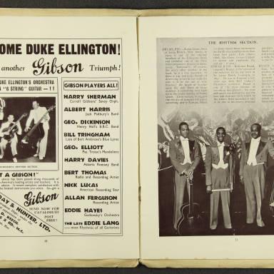 Duke Ellington Orchestra British Tour – July 1933 006