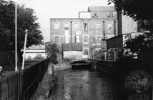 Connolly's Leather Works, Merton Mill, Colliers Wood