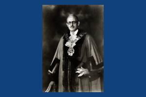 Alderman W. E. Hamlin,  Wimbledon councillor, 1947- 50