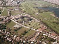 Wimbledon Tennis Ground  from the Sky