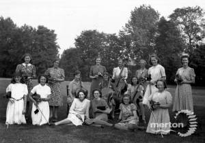 Wimbledon County School for Girls: Orchestra, Staff and Pupils